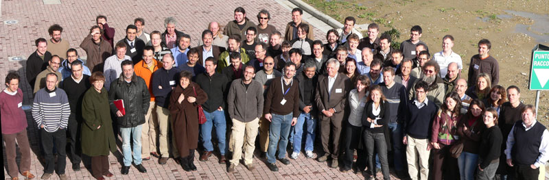 Participants to the 1st ET meeting